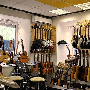 Музыкальные магазины Ворсмы